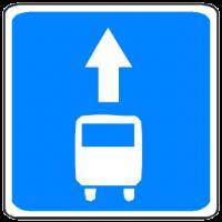 Правая полоса – для автобусов?