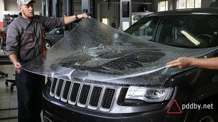 Антигравийная пленка - лучшая защита Вашего авто