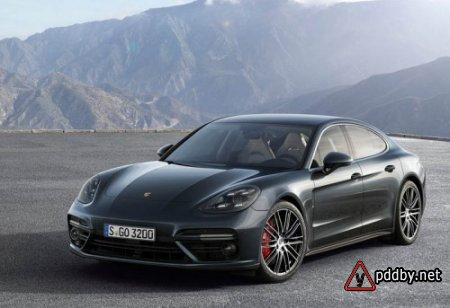 Porsche Panamera 2 2017-2018 года